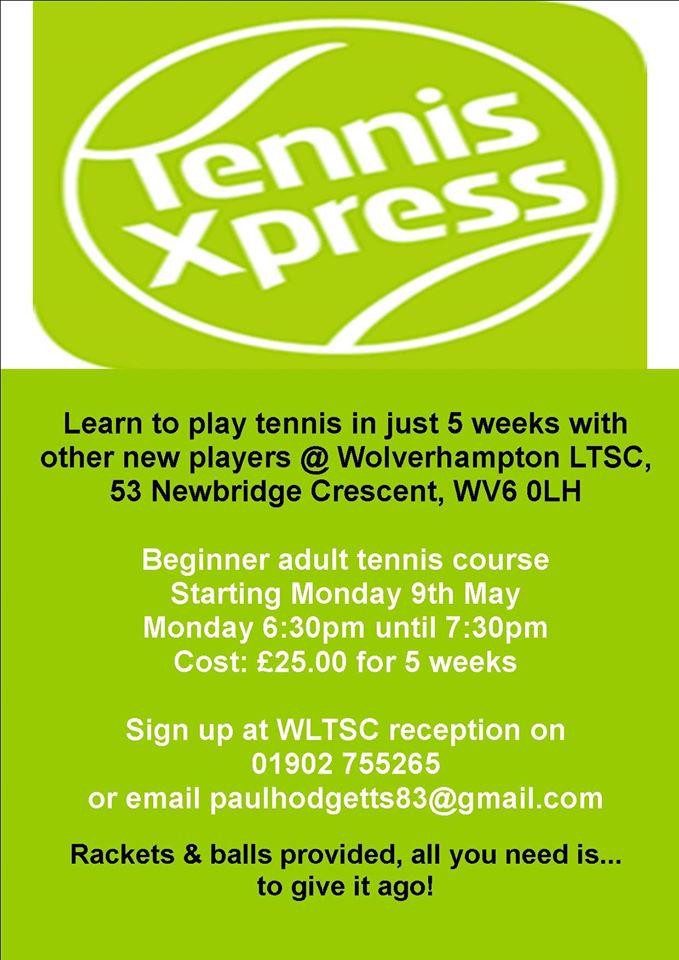 Tennis Xpress May 2016 Poster