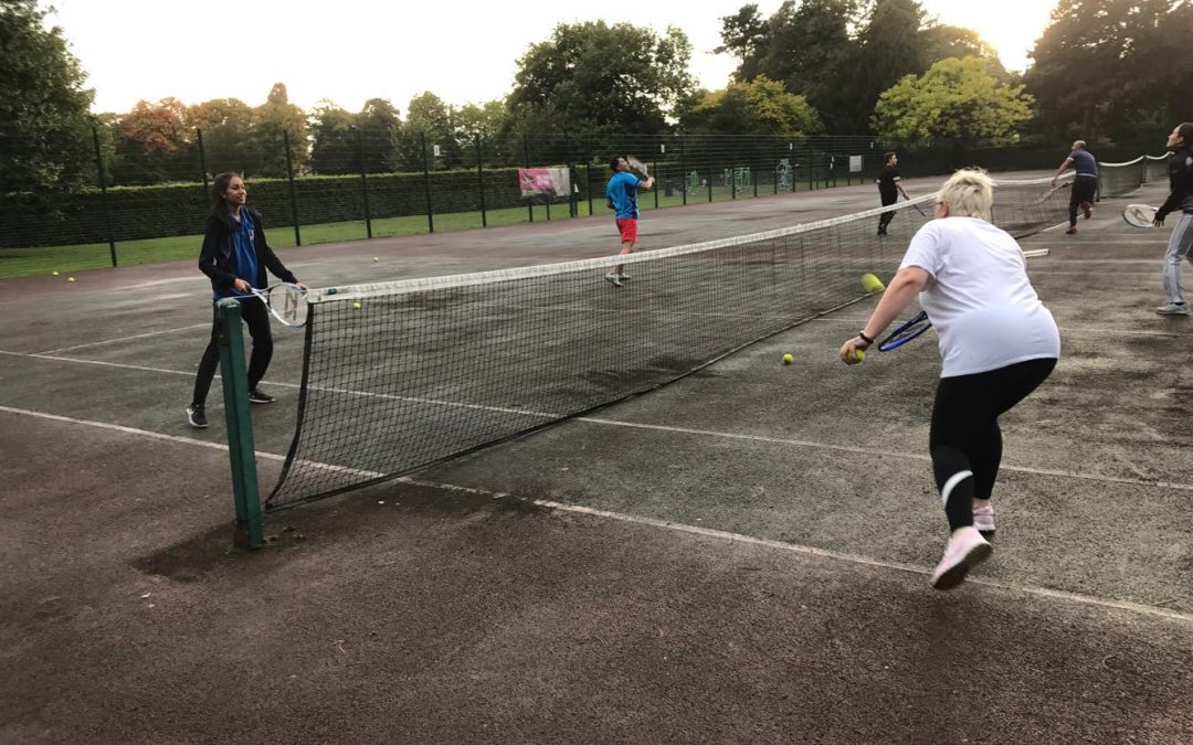 Tennis In The Community
