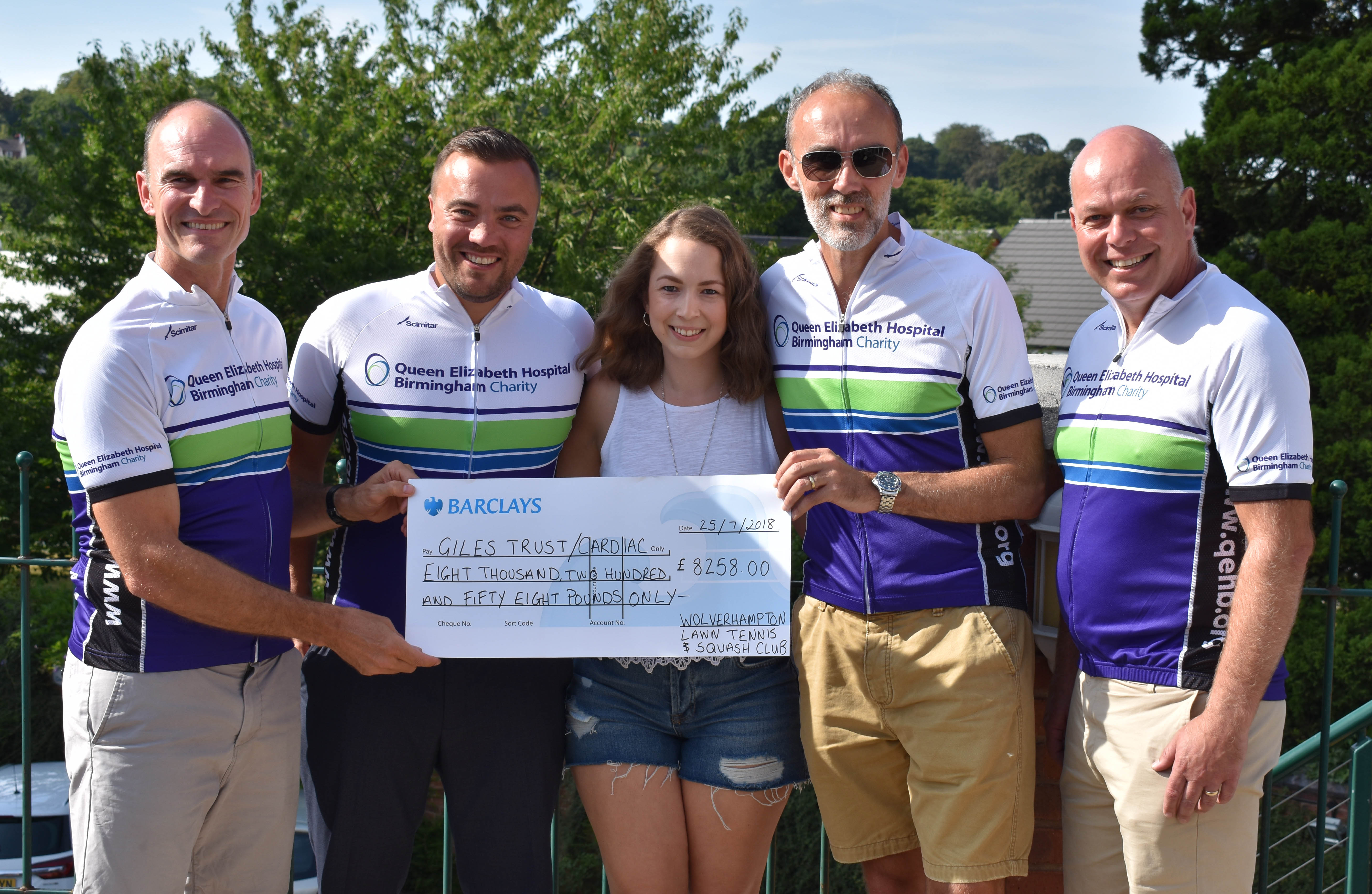 Over £8,000 Raised From Aberdovey Bike Ride