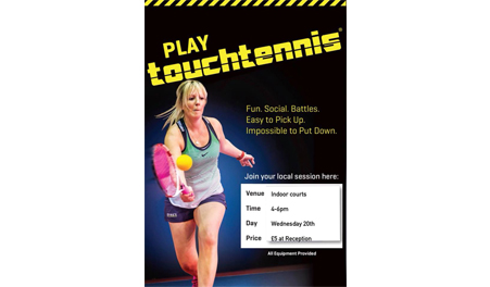 Try Out Touch Tennis