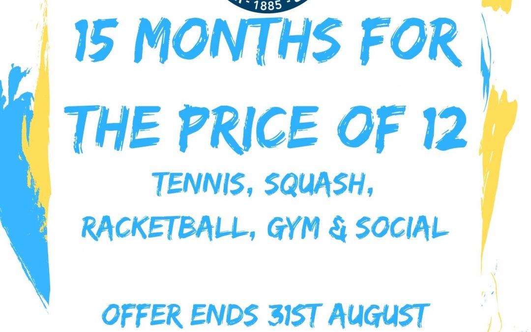 Membership Offer Available
