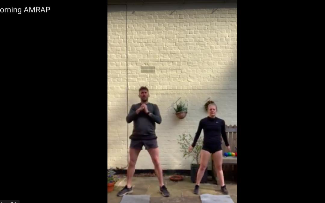 Exercise Don't Socialise