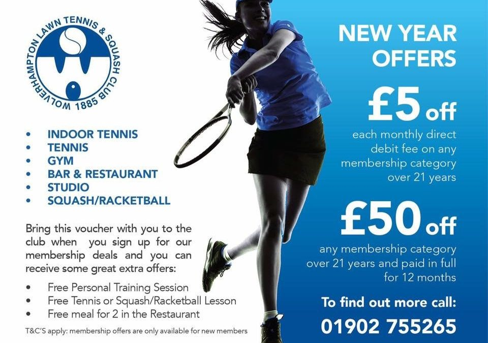 New Year Membership Offer