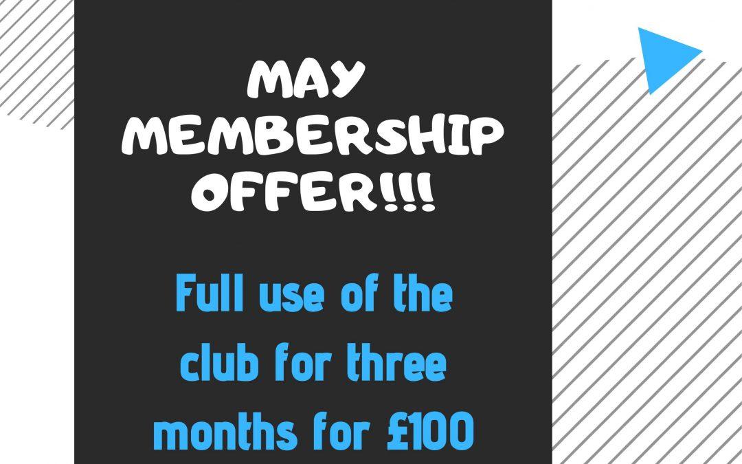 May Membership Offer