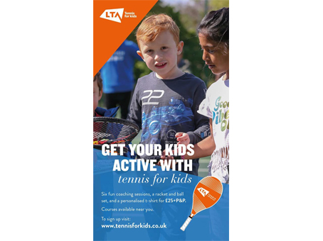 Tennis For Kids Course At WLTSC