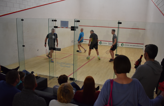 Squash And Racketball Up For The FA Cup