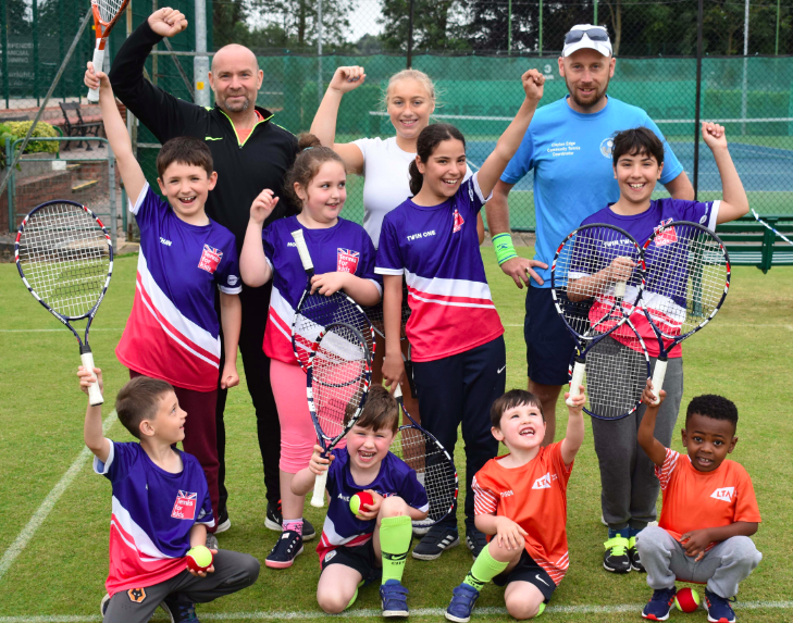 Tennis For Kids Proves A Hit!