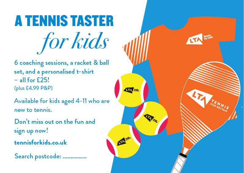WLTSC Tennis Taster