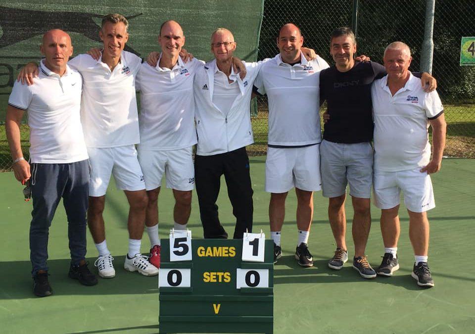 Success For RAF Tennis