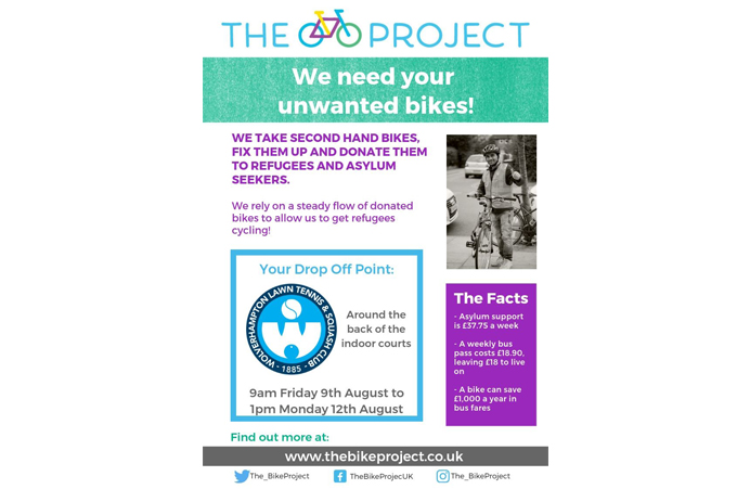 Donate Your Old Bikes…
