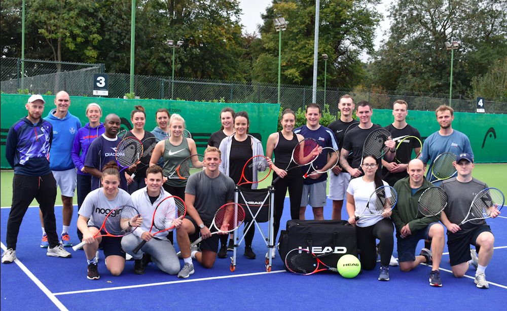 Tennis For All With The RAF