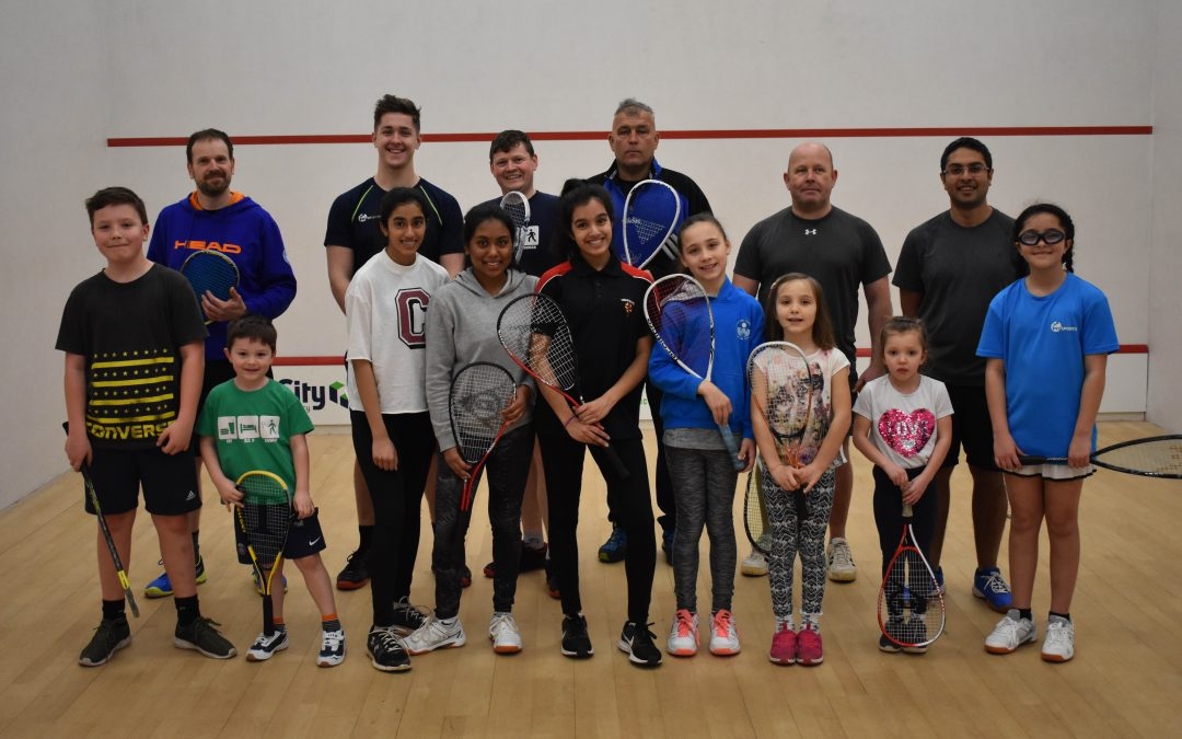 Try Out Squash And Have Fun At Junior 101!